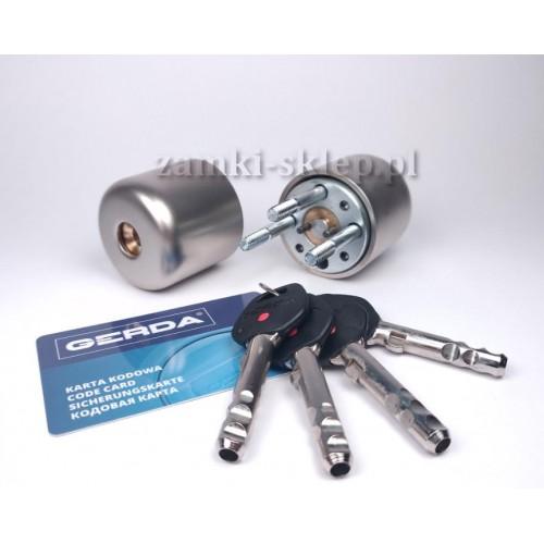 Wkładka GERDA RIM 6000SX + 5 kluczy + karta bezpieczeństwa
