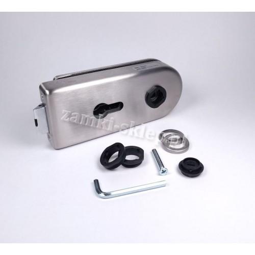 Zamek do drzwi szklanych LK500 B/RB/SB/SC