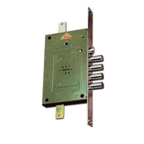 Zamek centralny rozporowy SERRATURE CR2650 klucz piórowy