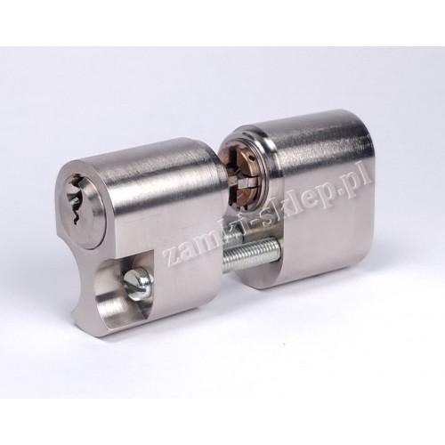 Cylinder skandynawski EVVA GPI zestaw 2 wkładki + 6 kluczy